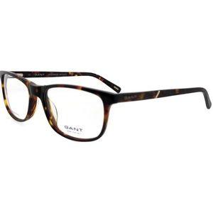 GA3049-052-54 Men's Havana Frame Clear Eyeglasses